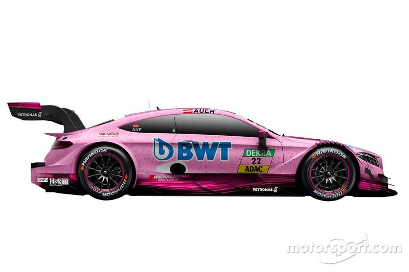 #22: Lucas Auer, Mercedes-AMG Team HWA, Mercedes-AMG C63 DTM
