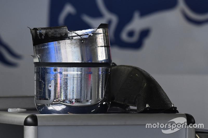 Тормозные «барабаны» Toro Rosso STR12