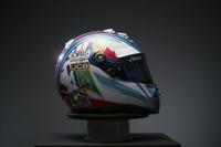 Capacete especial de Felipe Massa no GP da Bélgica