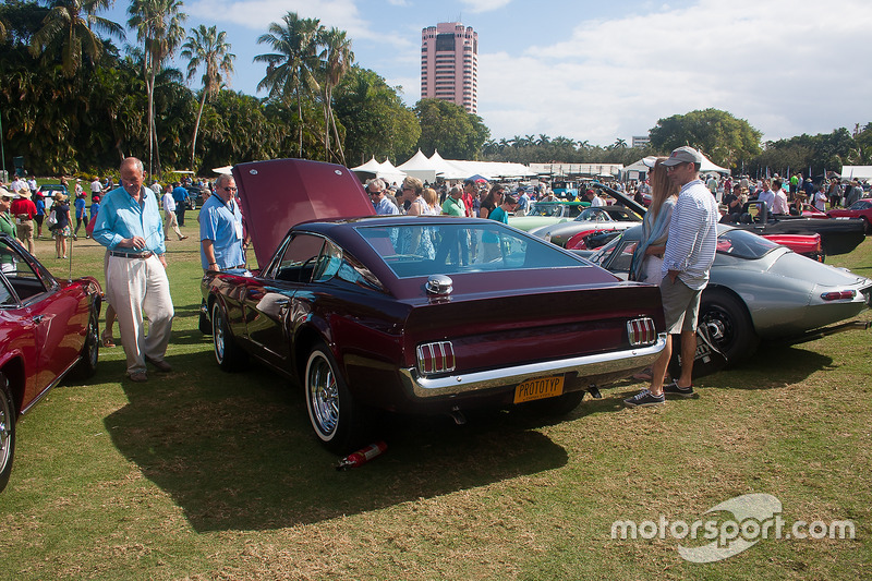 Ford Mustang Concept Show Car At Boca Raton Concours DElegance - Boca raton car show