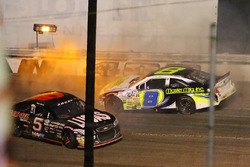 Vinnie Miller and Bobby Gerhart crash