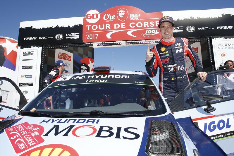 1. Thierry Neuville, Hyundai i20 Coupe WRC, Hyundai Motorsport