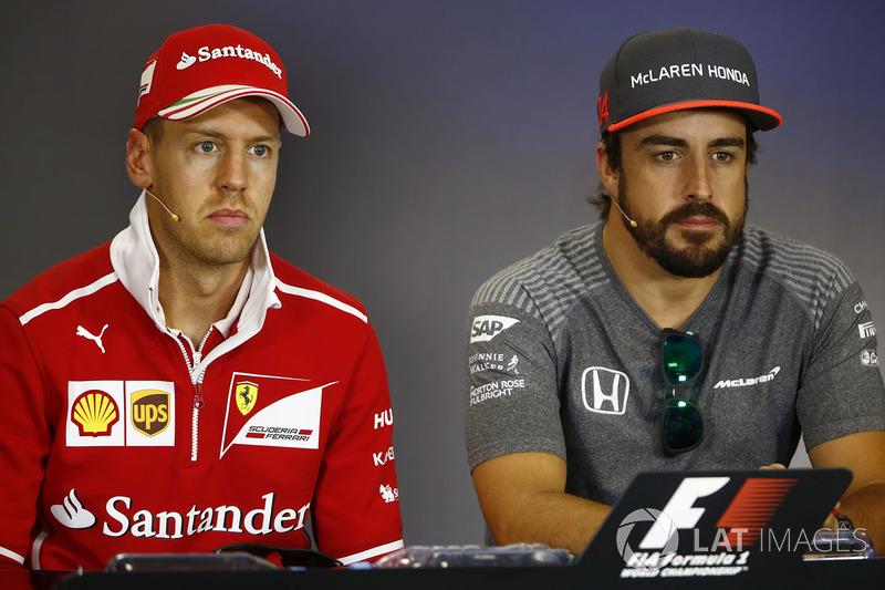 Себастьян Феттель, Ferrari, Фернандо Алонсо, McLaren
