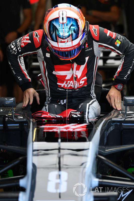 Romain Grosjean, Haas VF-17