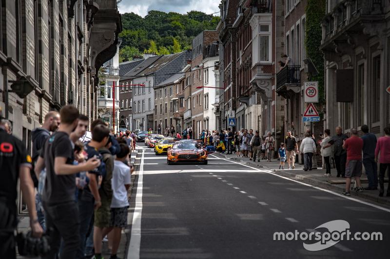 #84 Mercedes-AMG Team HTP Motorsport Mercedes-AMG GT3: Jimmy Eriksson, Maximilian Buhk, Franck Perera
