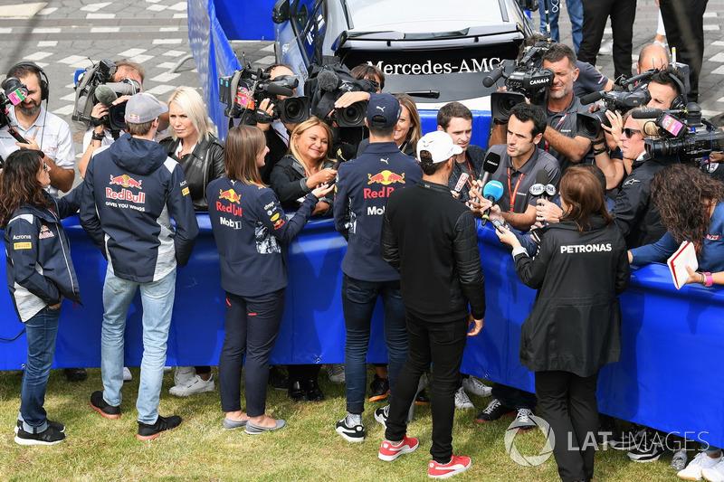Данііл Квят, Scuderia Toro Rosso, Даніель Ріккардо, Red Bull Racing, Льюіс Хемілтон, Mercedes AMG F1