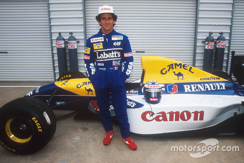 Alain Prost, Williams Renault