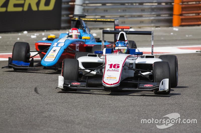 Matevos Isaakyan, Koiranen GP y Akash Nandy, Jenzer Motorsport
