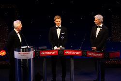 World Champion Nico Rosberg, Mercedes AMG F1, Damon Hill