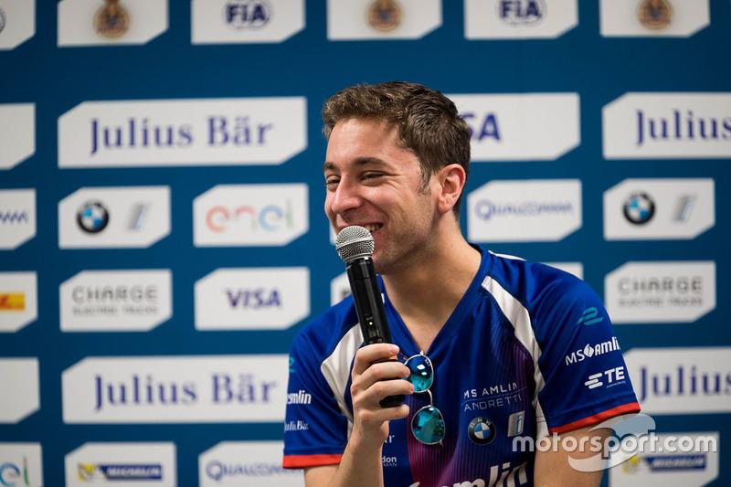 Press Conference: Robin Frijns, Amlin Andretti Formula E Team