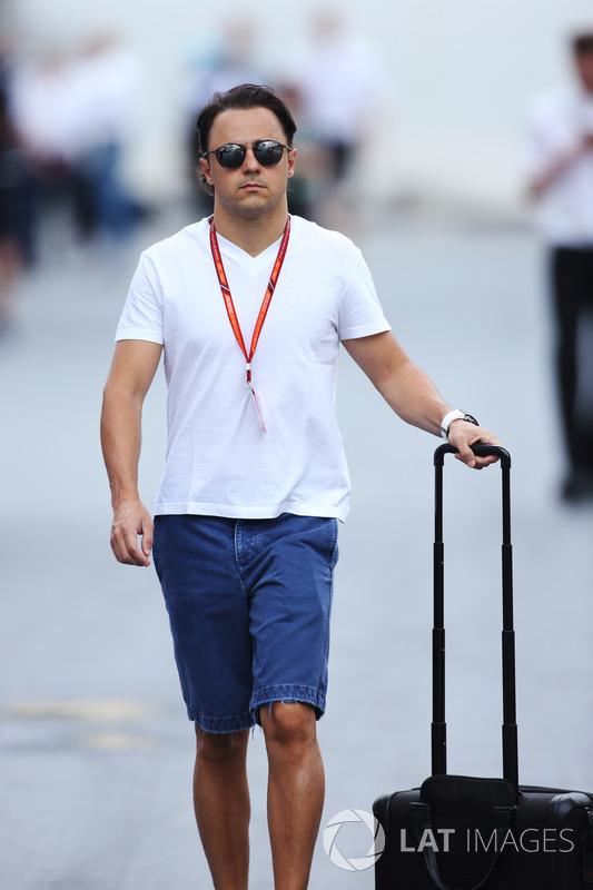 Felipe Massa, Williams padokta