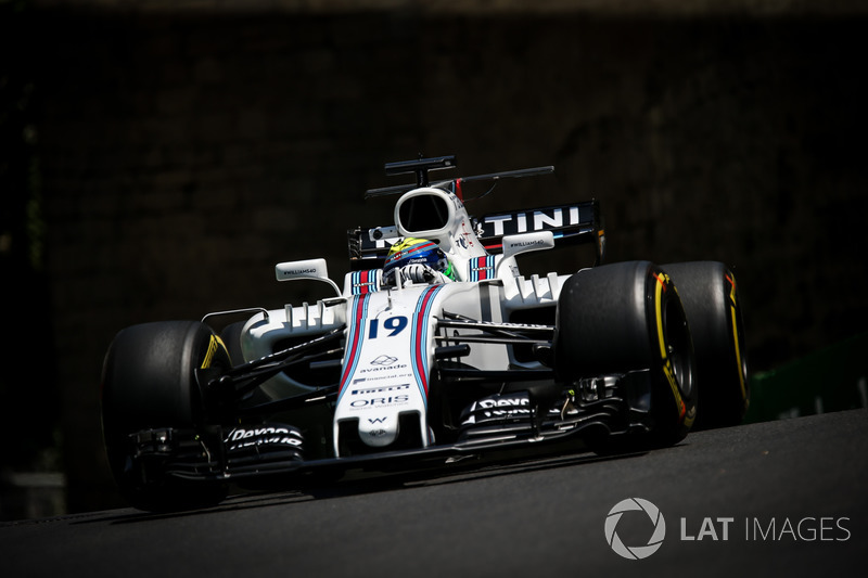 Felipe Massa, Williams FW40,