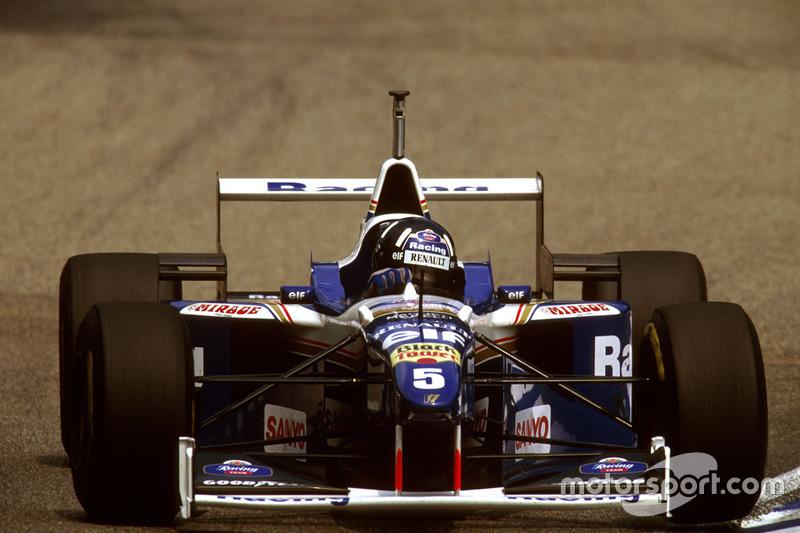 1996 - Damon Hill, Williams-Renault