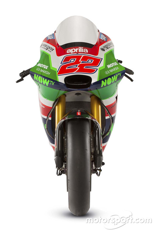 Мотоцикл Сема Лоуса, Aprilia Racing Team Gresini