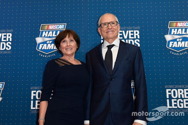 Mark Martin y su esposa Arlene