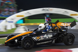David Coulthard, driving the Ariel Atom Cup
