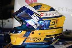 Casque de Marcus Ericsson, Sauber