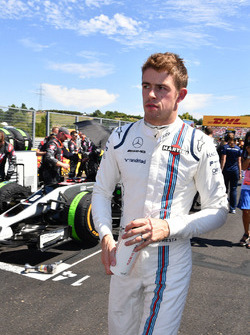 Paul di Resta, Williams on the grid