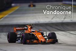 la chronique de Stoffel Vandoorne, Singapour