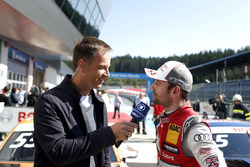 Interview mit Polesitter: Jamie Green, Audi Sport Team Rosberg, Audi RS 5 DTM