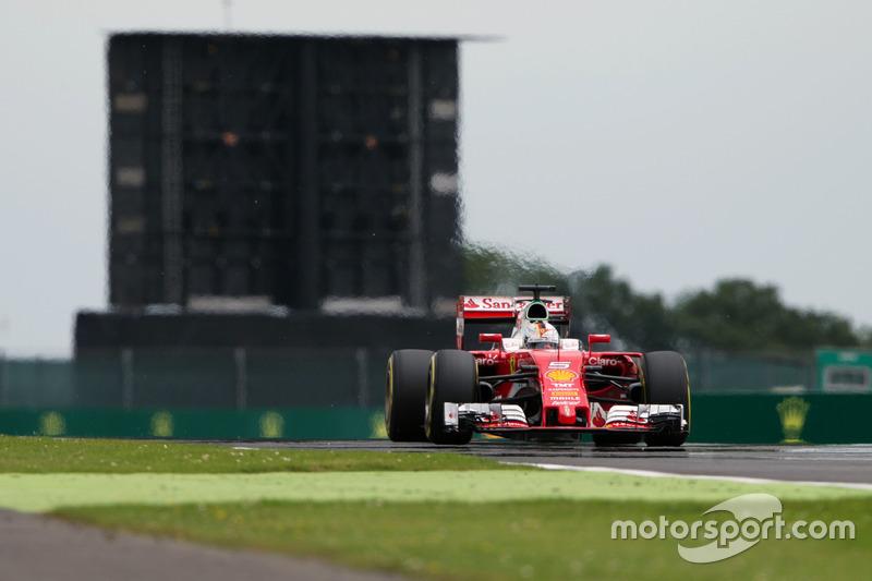 11: Sebastian Vettel, Ferrari SF16-H (inc. 5-place grid penalty)