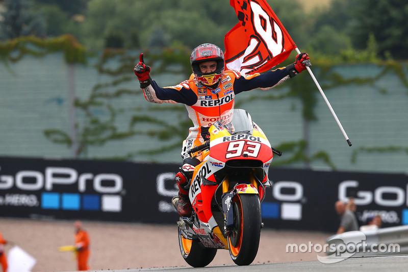 Winner Marc Marquez, Repsol Honda Team