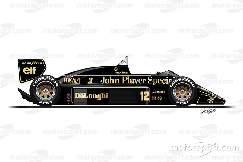 1986: Lotus-Renault 98T