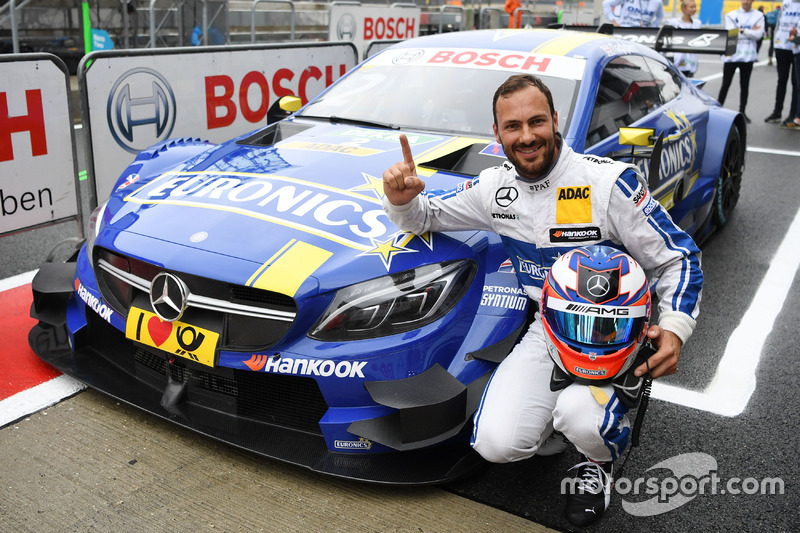 Pole position per Gary Paffett, Mercedes-AMG Team ART, Mercedes-AMG C63 DTM