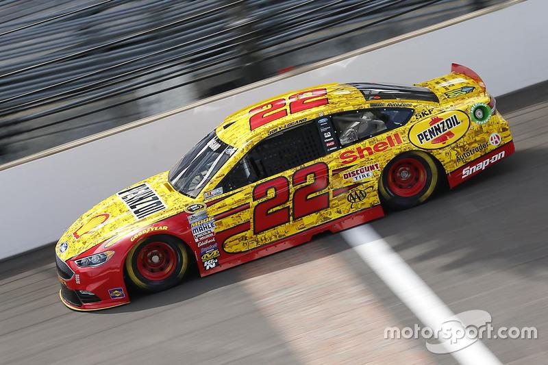 7. Joey Logano, Team Penske, Ford