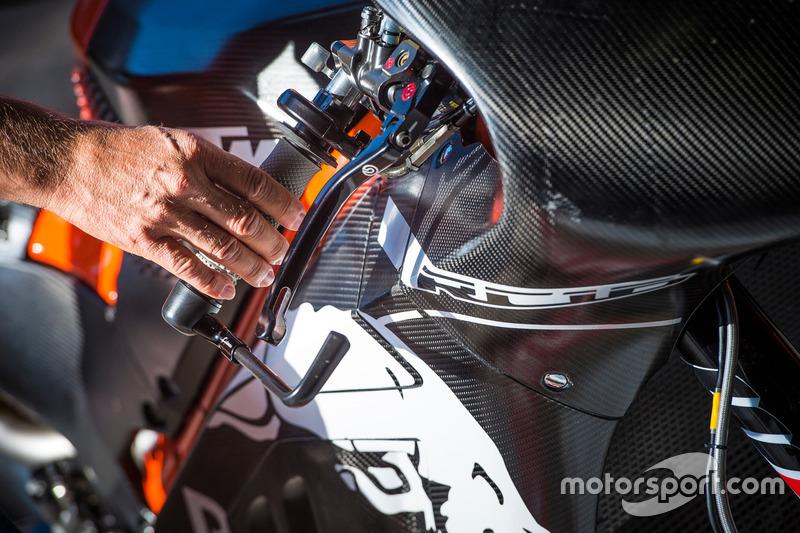 KTM RC 16, detail
