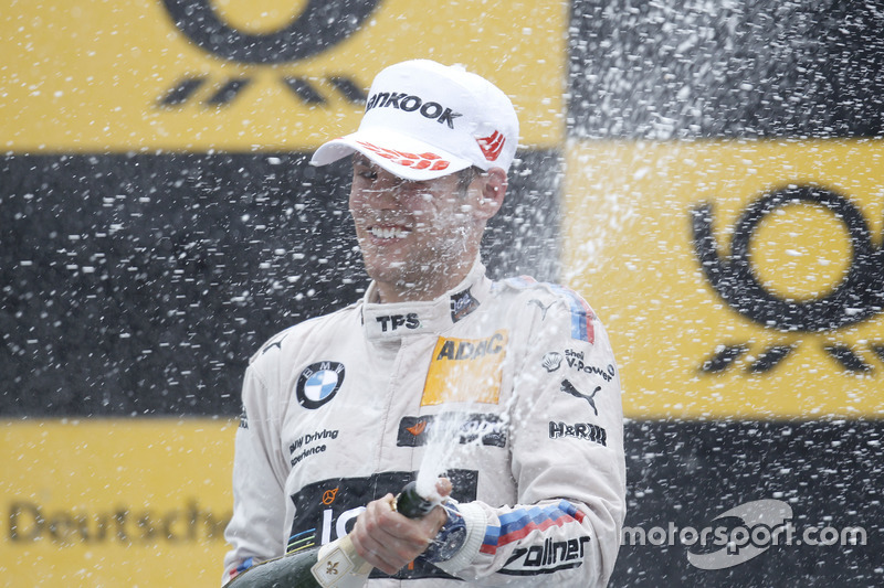 Podyum:  Tom Blomqvist, BMW Team RBM, BMW M4 DTM