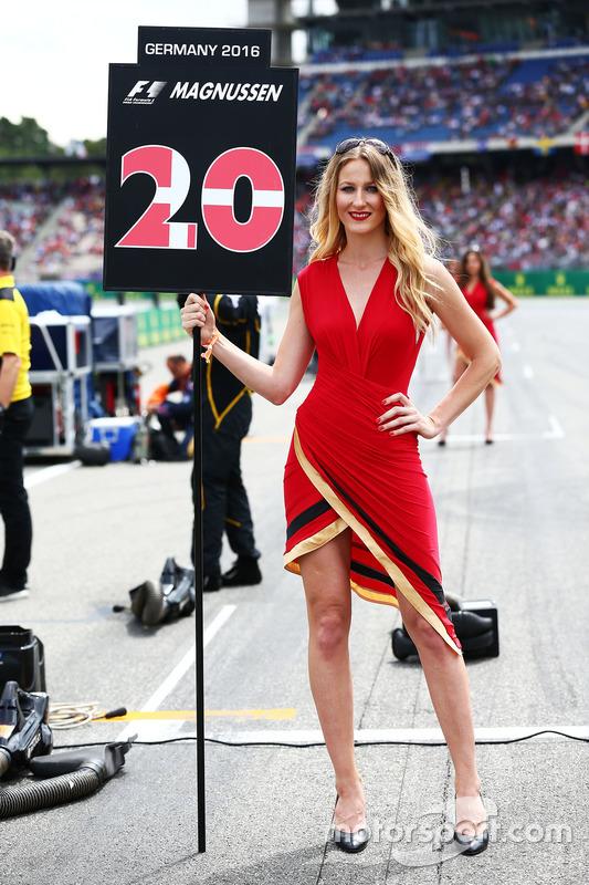 Грід-гьол для Кевіна Магнуссена, Renault Sport F1 Team