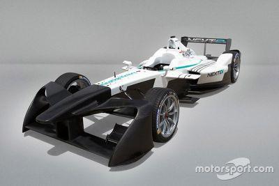 Formula E 2017 ontwerp