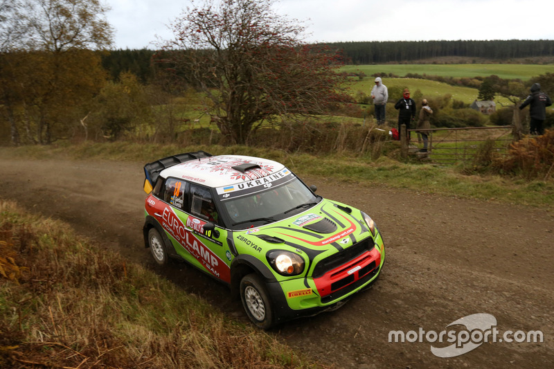 Valery Gorban, Volodymyr Korsia, Mini Cooper WRC, EUROLAMP WORLD RALLY TEAM