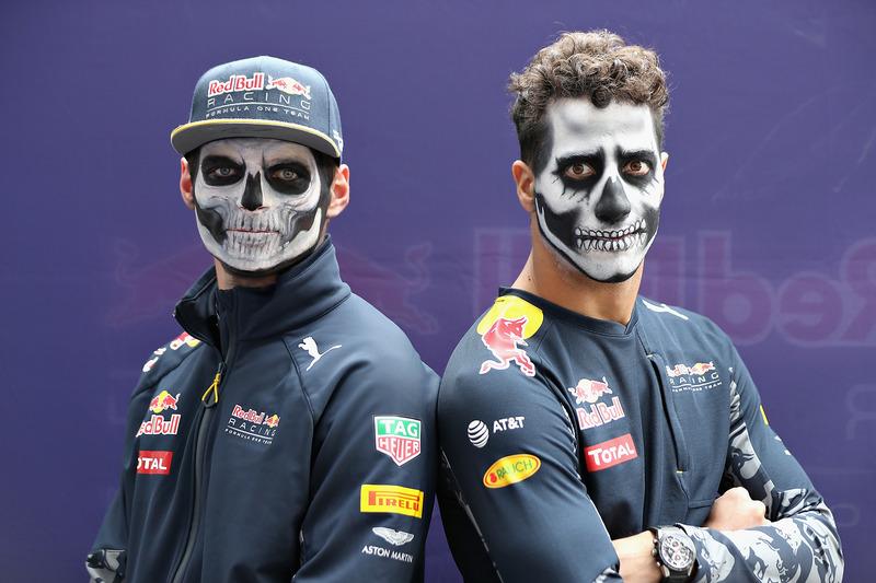 16: Гран Прі Мексики, Мехіко. Даніель Ріккардо, Макс Ферстаппен, Red Bull Racing