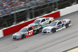 Kevin Harvick, Stewart-Haas Racing Chevrolet, Paul Menard, Richard Childress Racing Chevrolet, Danica Patrick, Stewart-Haas Racing Chevrolet