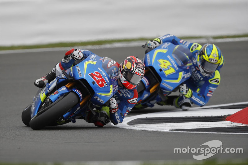Маверік Віньялесs, Team Suzuki MotoGP, Алейш Еспаргаро, Team Suzuki MotoGP