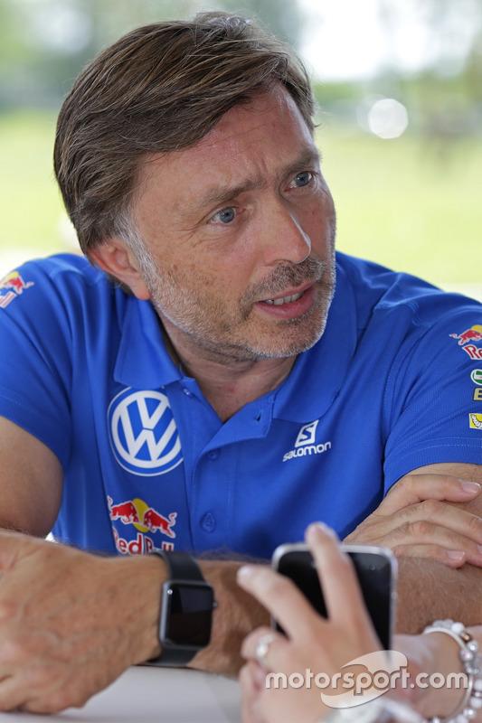 Jost Capito, directeur de Volkswagen Motorsport