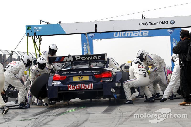 Boxenstopp: Marco Wittmann, BMW Team RMG, BMW M4 DTM