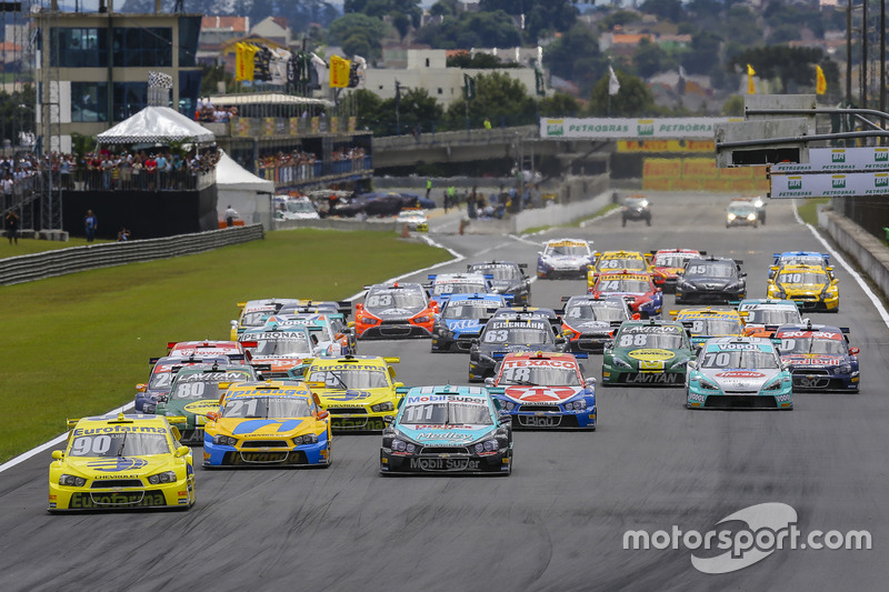 Der Saisonauftakt der brasilianischen Stock-Cars in Curitiba