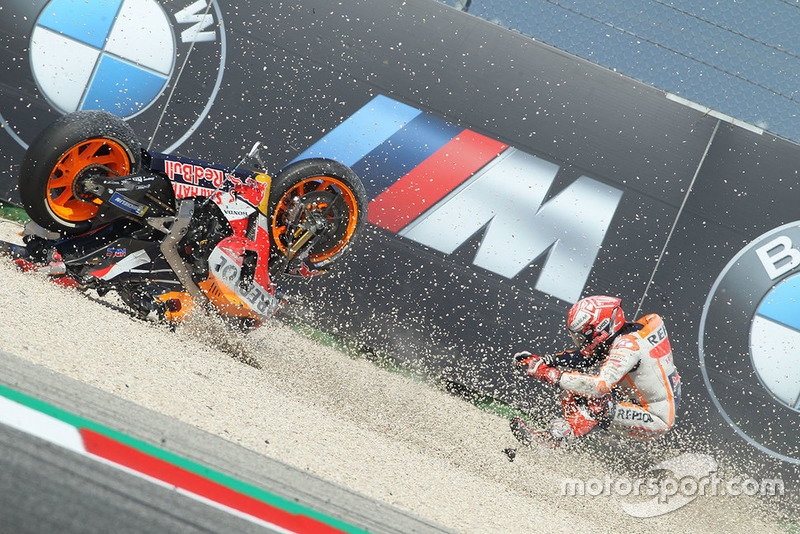 Kecelakaan Marc Marquez, Repsol Honda Team