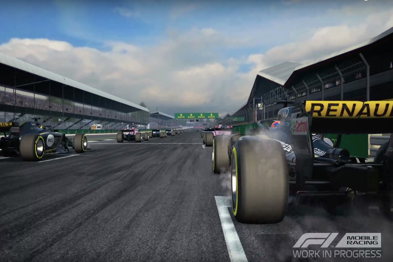 Screenshot F1 Mobile Racing
