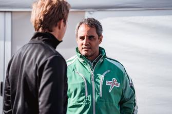 Nico Rosberg and Juan Pablo Montoya