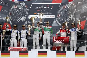Podium: Pro-AM: Winners #333 Rinaldi Racing Ferrari 488 GT3: Rinat Salikhov, David Perel, second place #39 TP 12 - Kessel Racing Ferrari 488 GT3: Piti Bhirombhakdi, Carlo Van Dam, third place #26 Sainteloc Racing Audi R8 LMS: Nyls Stievenart, Markus Winkelhock