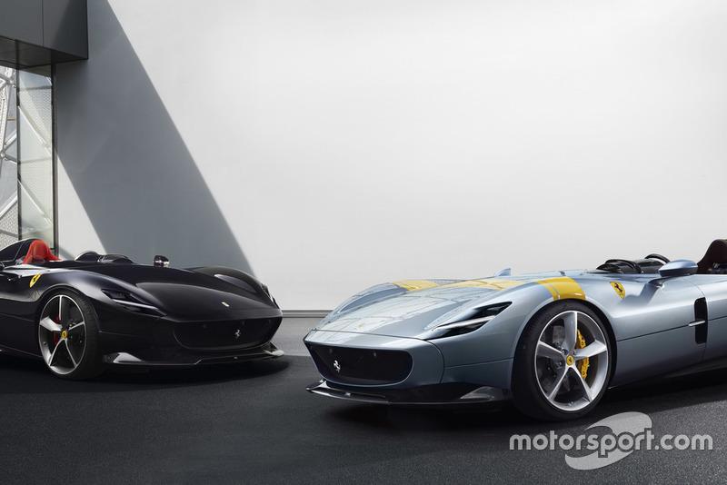 Ferrari Monza SP1 en Monza SP2