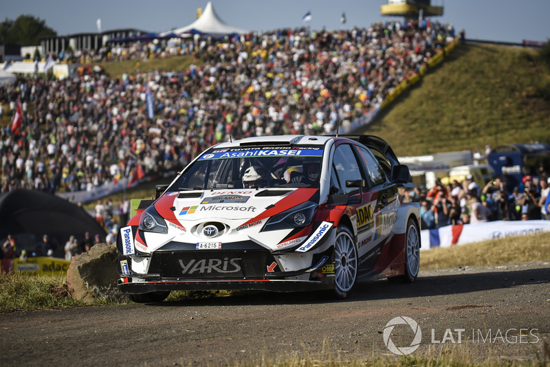 Эсапекка Лаппи и Янне Ферм, Toyota Yaris WRC