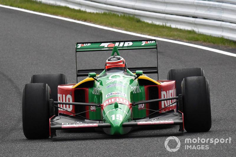 Benetton F1, di segmen Perayaan Legenda F1 ke 30