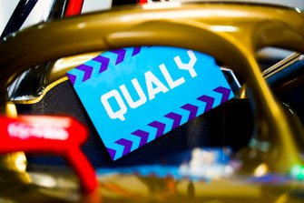 Qualy notice board on a DS TECHEETAH, DS E-Tense FE19