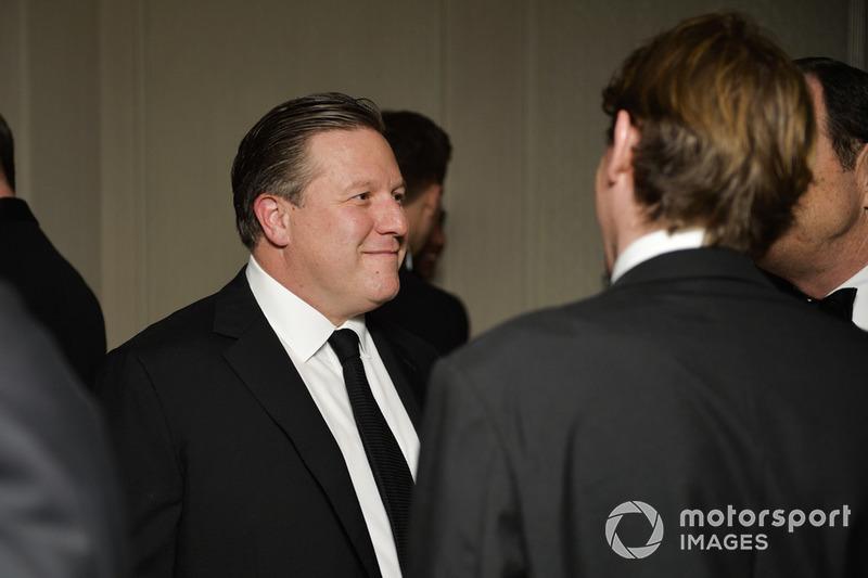 Генеральний директор McLaren Racing, Зак Браун