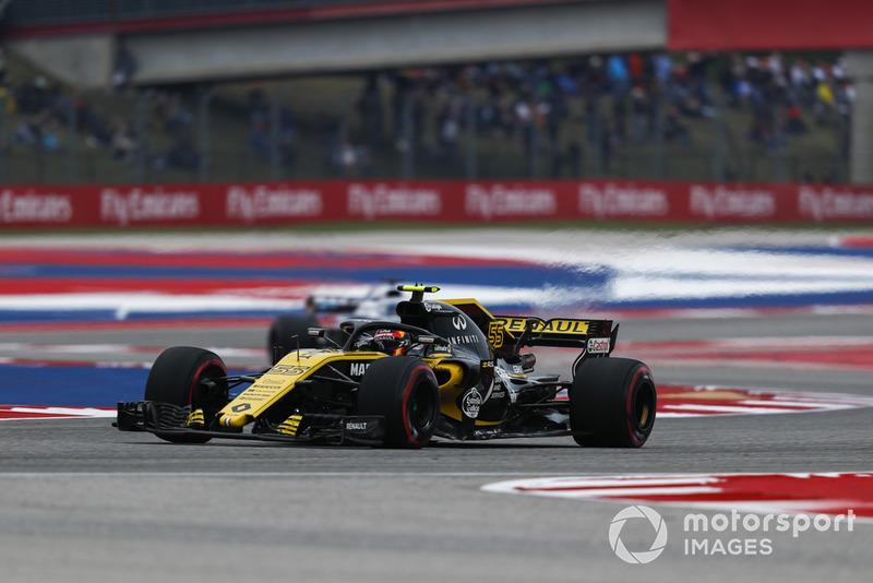 P7: Carlos Sainz Jr., Renault Sport F1 Team R.S. 18